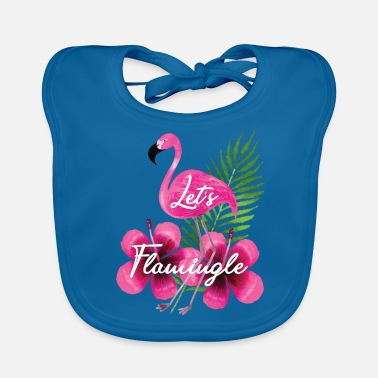 Officialbrands Flamingo - Let's Flamingle T-Shirt - Bavaglino