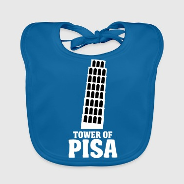 Tower of Pisa - Baby Organic Bib