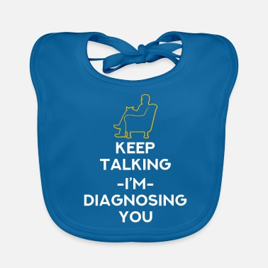 Psychology Psychologist psychology therapist gift - Baby Organic Bib