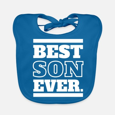 Peetoom Best Son ever - Dad & Son Funny Matching - Bio-slabbetje voor baby's