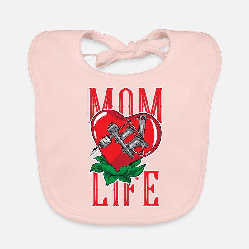 Cadeau De Tatouage De Tatouage De Vie De Maman Bavoir Bebe Spreadshirt