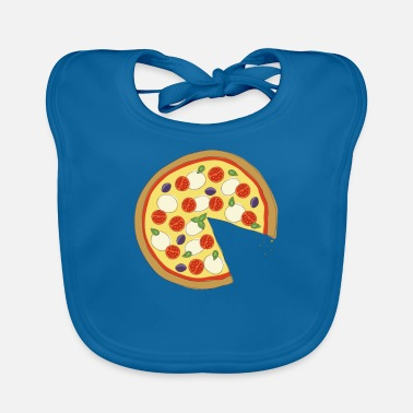 Officialbrands The Missing Pizza Napoletana -Matching Couple Love - Bio-slabbetje voor baby's