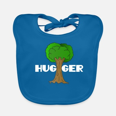 Enviromental Beautiful Nature Tree Tshirt Design Hugger Tree lover Nature Lover - Baby Organic Bib