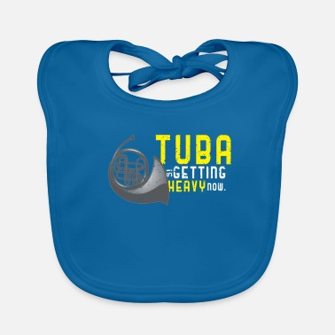 Wind Heavy Tuba Brass Instrument - Baby Bib