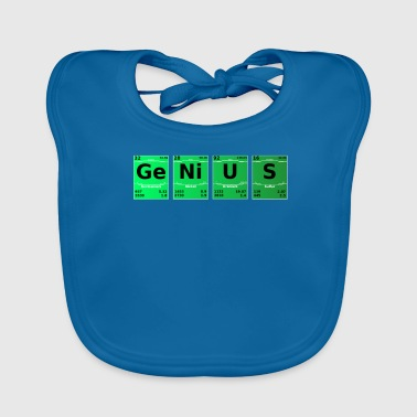 Science Periodic Table Genius Periodic Table - Baby Organic Bib