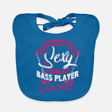 Bass bass player - Baby Organic Bib