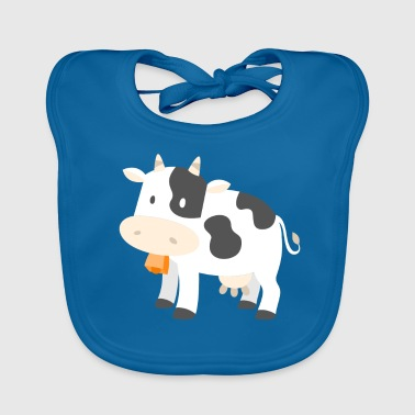 Cow Cows Farmer Farmer Gift Cartoon Comic - Bio-slabbetje voor baby's
