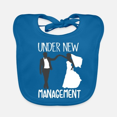 Bride And Groom new management for bride and groom wedding - Baby Organic Bib