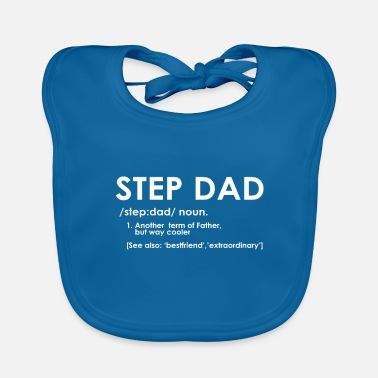 Step Step Dad definition - Baby Bib