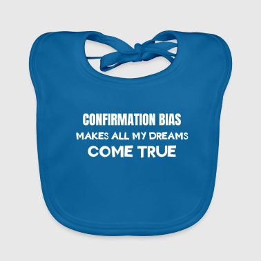 Famous & Fabulous Bias Tshirt Design Makes all my dreams come true - Baby Organic Bib