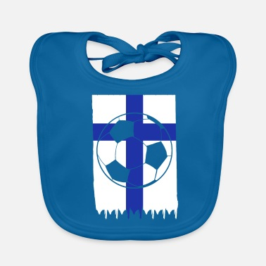 Football Team Finland Football Club Team - Baby Organic Bib