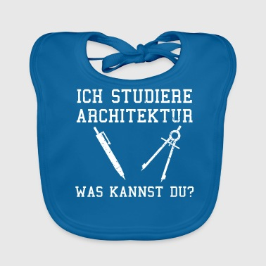 architect - Baby Organic Bib