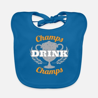 Champ Champs Drink Champs - Bio-slabbetje voor baby's