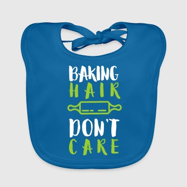 Pastry Chef Baking Hair Care I Baker Bakery Baker Baking - Baby Organic Bib
