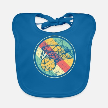 Basket Basketball and basket - Baby Bib