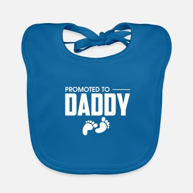Pregnancy Announcement Promoted To Daddy Pregnancy Announcement - Baby Organic Bib