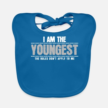 Siblings Youngest sibling - Baby Bib