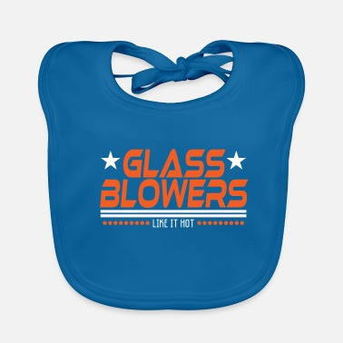 Semplice Design del tee Glass Blowers Like It Hot. Fai un - Bavaglino