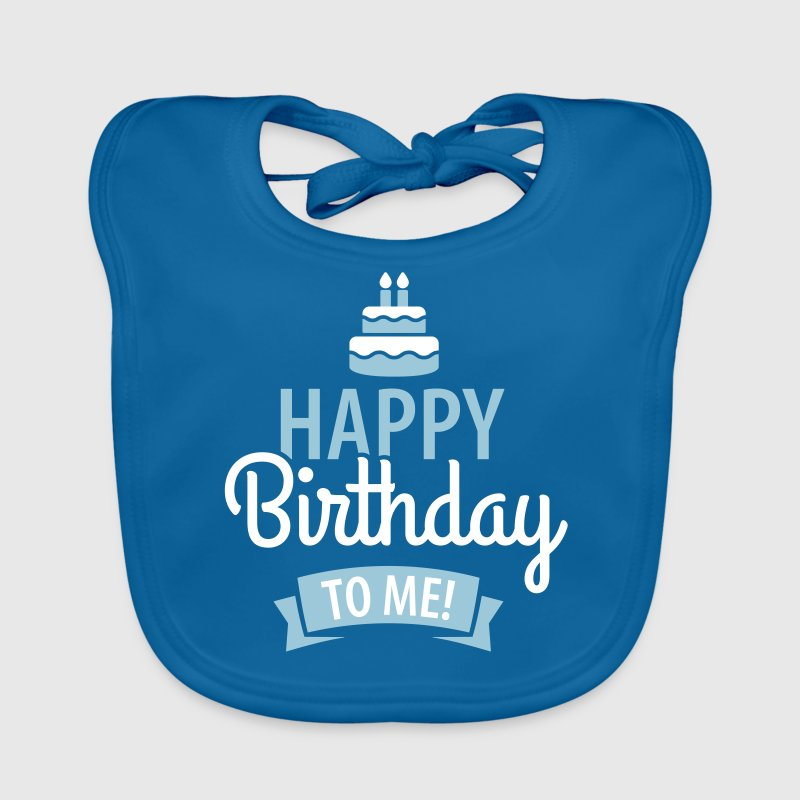 Happy birthday to me! - Bio-slabbetje voor baby's