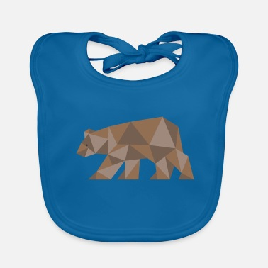 Brown Bear Bear bear brown bear - Baby Organic Bib