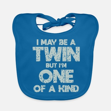 Siblings Twins siblings - Baby Bib