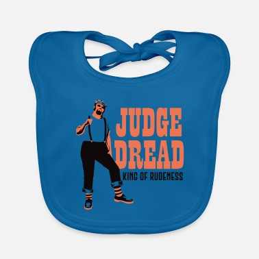 Rude Girl JudegeDread king of rudeness - Baby Organic Bib