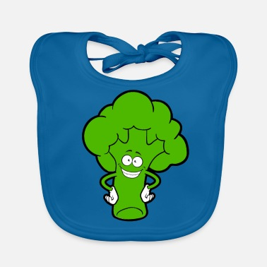 Broccoli Funny vegetables - Baby Organic Bib