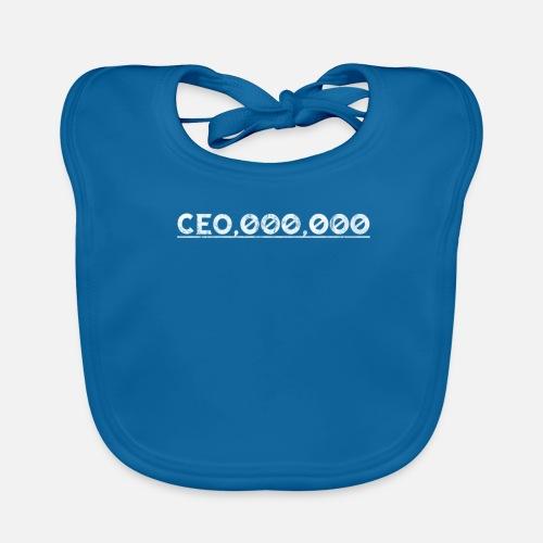 Baby BibCEO Entrepreneur CEO Chef Boss Gift