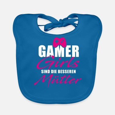 Consola Gamer Girls Gaming Mothers Mom Mamá Regalo - Babero ecológico bebé