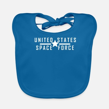 United United States Space Force - Bavoir bio Bébé