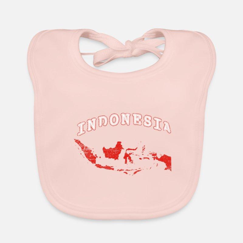 Map Of Asia Jakarta.Indonesia Map Island State Bali Java Jakarta Baby Bib Spreadshirt