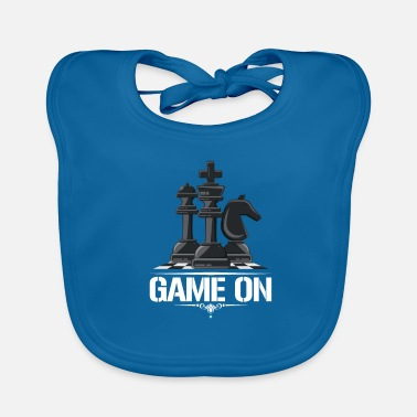 Chess Chess Chess player Chess gift - Baby Organic Bib