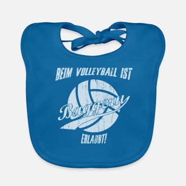 Drague Sports de drague de volleyball disant - Bavoir bio Bébé