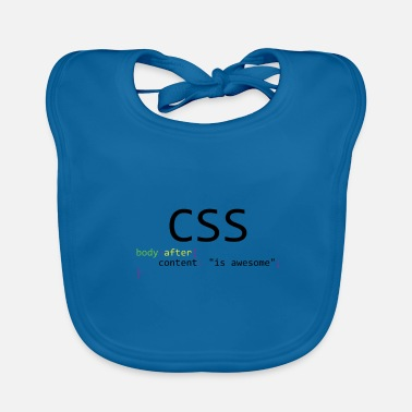 Css CSS is awesome - Baby Organic Bib