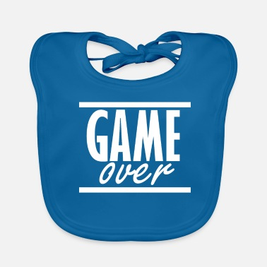 Game Over Game over - Baby Organic Bib