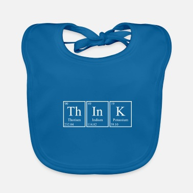 Periodic Table Think Periodic Table - Baby Organic Bib
