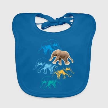 Animal Planet Elephants - Baby Organic Bib