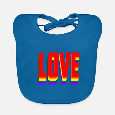Lovely Love - Baby Bib