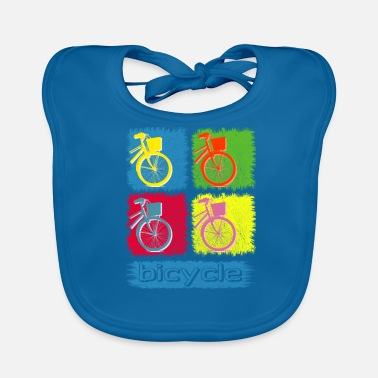 Bike Bicycle Bike Bike Shirt - Bavoir bio Bébé