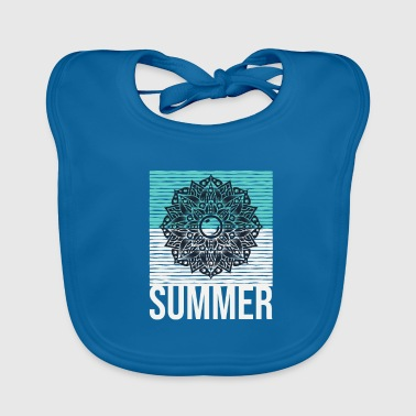 Summer Surfista Boarder Beach Party Holiday Gift - Babero ecológico bebé