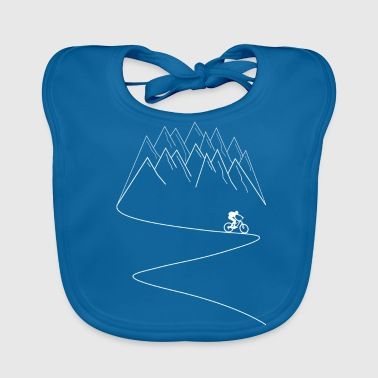 MTB mountain bike mountain biking - Baby Organic Bib