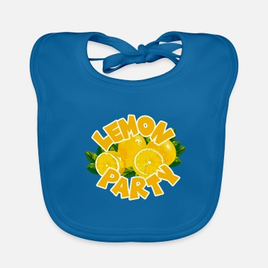 Party Lemon Party - Lemon Party - Bio-slabbetje voor baby's