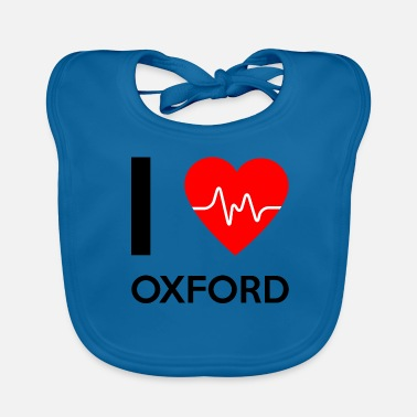 Oxford I Love Oxford - I love Oxford - Baby Organic Bib
