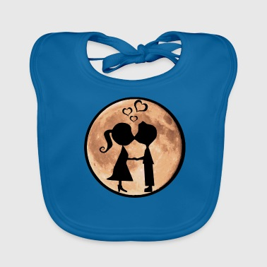 Isle under the Moon by Isles of Shirts - Baby Organic Bib