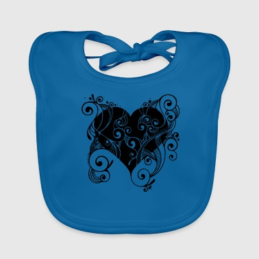 Isle of Heart Petal by Isles of Shirts - Baby Organic Bib