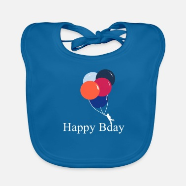 Happy Birthday Happy Birthday! Happy Birthday! - Baby Organic Bib