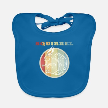 Squirrel Squirrel squirrel - Baby Bib