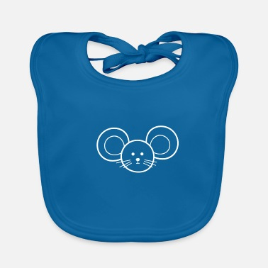 Mouse Mouse mouse - Baby Organic Bib