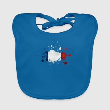 France Paris Lyon Eiffel Tower - Baby Organic Bib