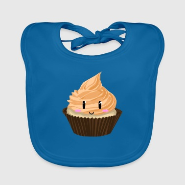 Cupcake Smile Orange - Baby Organic Bib